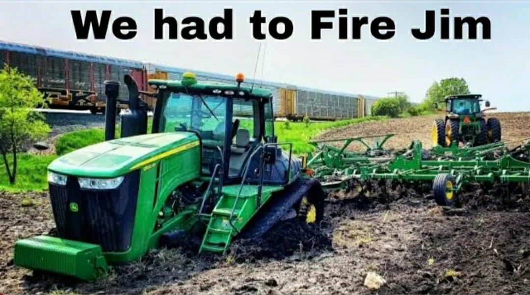 Tractor Stuck in the MUD!!