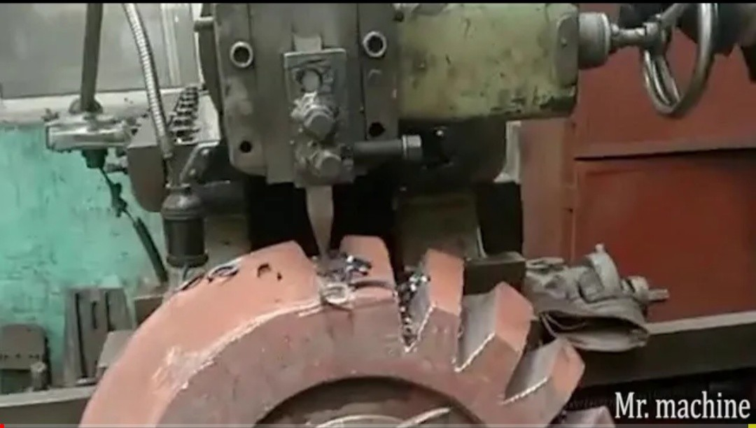 The rough iron processing process is amazing