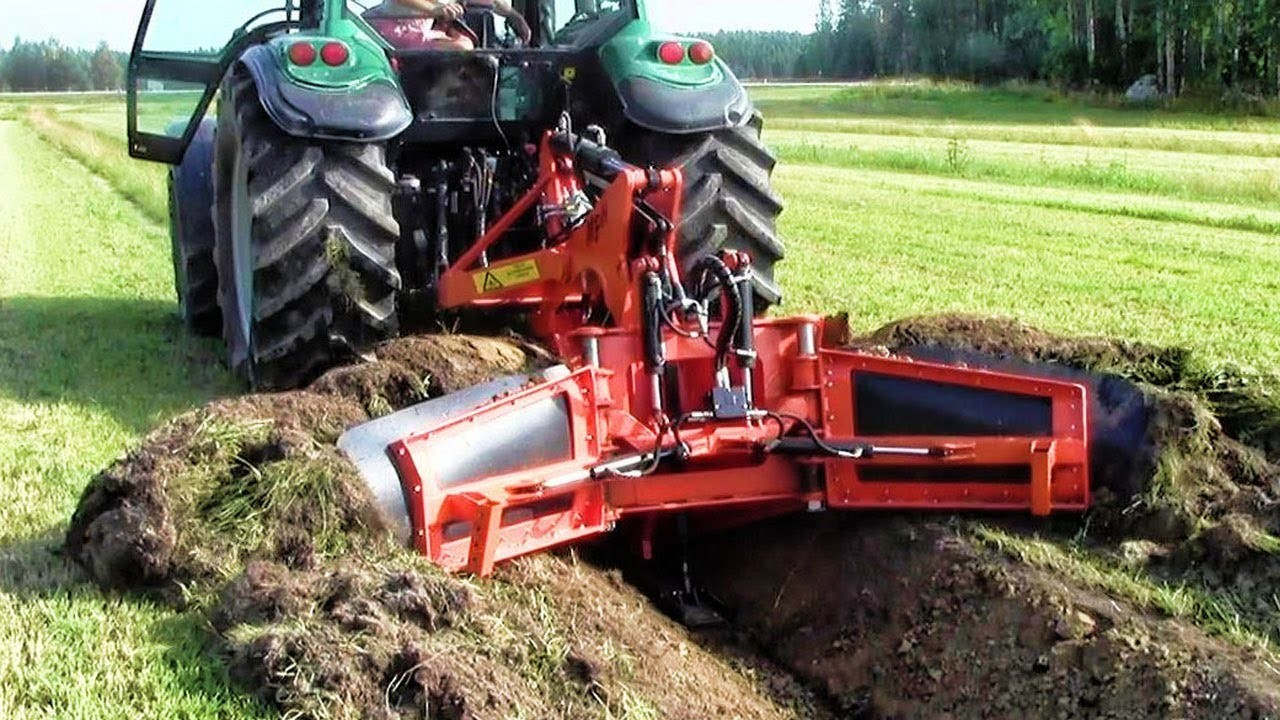 Extreme Fast Trimming Soil Slope Heavy Equipment A Harvester For Cleaning Drainage Ditches Machines - Perfect Technology