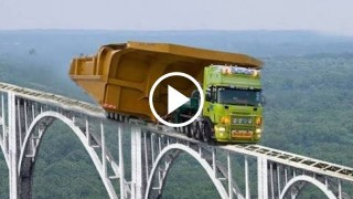 Dumper Crash Huge Mega Machines Mining Truck Excavator Tipper VOLVO Komatsu Liebherr BelAZ CAT ...