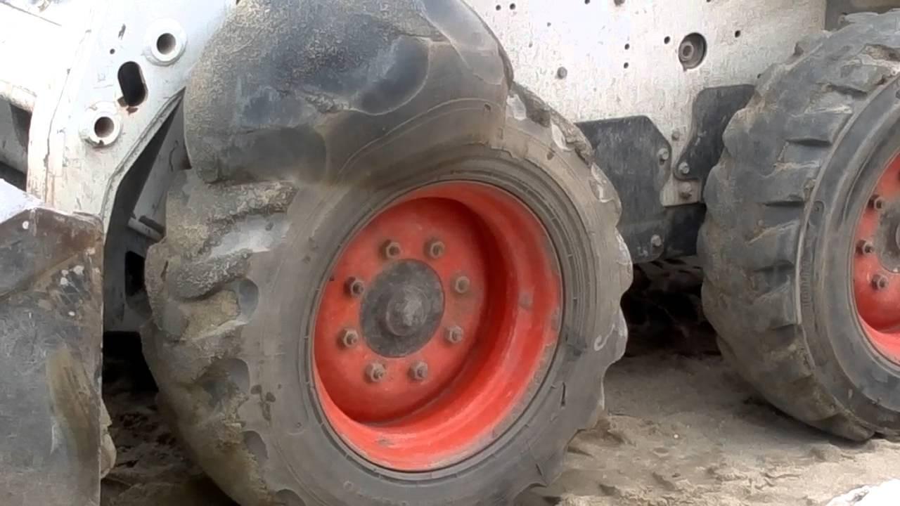 Explosion loader bob cat!!!!Explosão da bob cat! - The Best Loader Tires - Just Watch