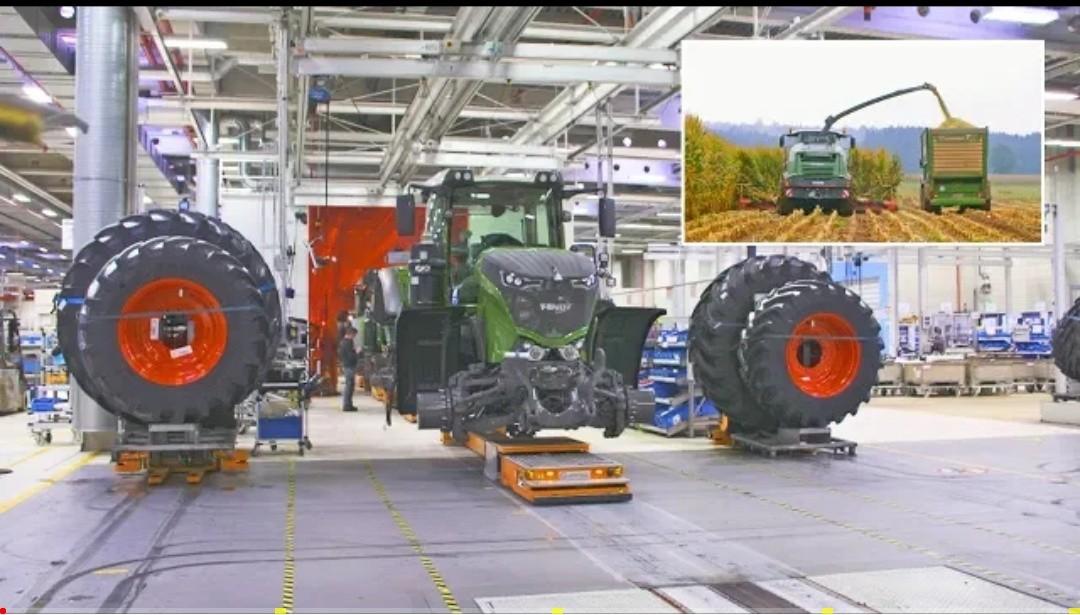 Traktor, Mähdrescher & Erntemaschinen - Das Fendt Landmaschinen-Werk _ Reportage