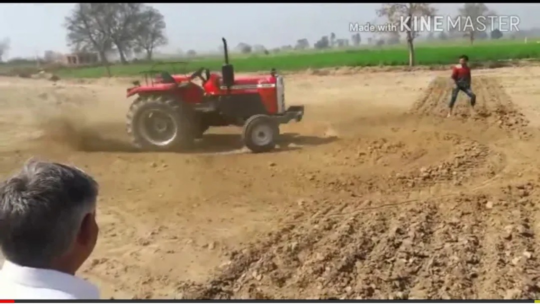 you must watch this video.awesome tractor fail.
