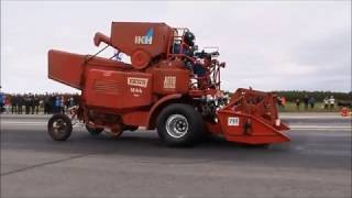 134,75 km/h World fastest combine harvester - Just Watch
