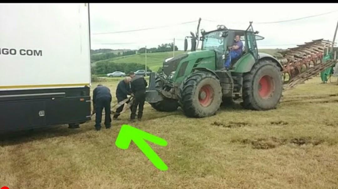 Fendt Tractor Hard Jobs - POWER Mode