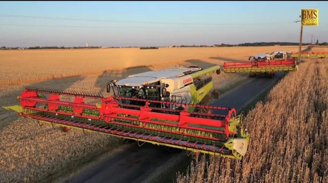 Neue Generation CLAAS LEXION Mähdrescher - Serie 8000-5000 Getreideernte 2020 new combine Harvester