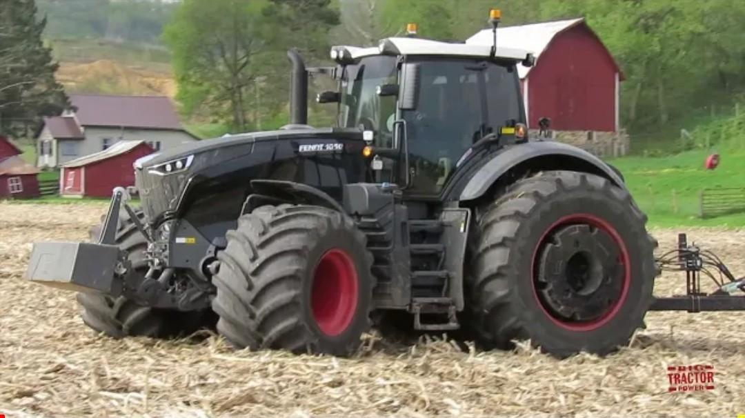 500 hp Stealth Fendt 1050 Tractor & McFarlane Reel Disk!!