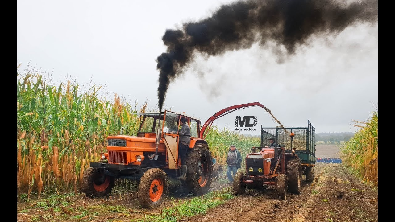 TURBO TRACTOR SİLAGE WORK