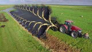World Amazing Modern Agriculture Tractor Grader Plow Ditcher Trencher Harvester Mega Machines